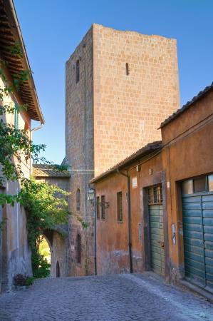 tuscania: Alleyway  Tuscania  Lazio  Italy