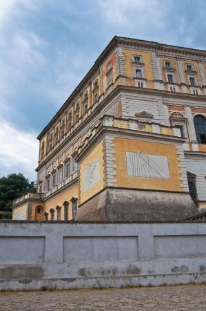 lazio: Farnese Palace. Caprarola. Lazio. Italy. Stock Photo