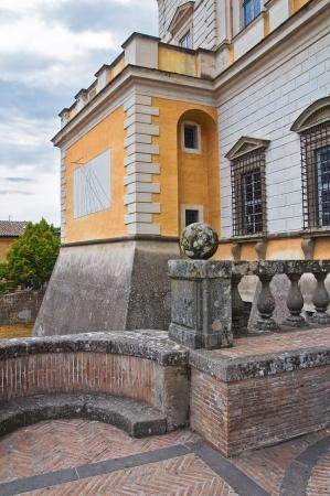 etrurian: Farnese Palace. Caprarola. Lazio. Italy. Editorial