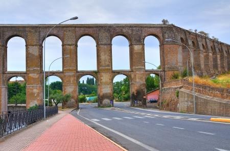 etrurian: Aqueduct of Nepi. Lazio. Italy.