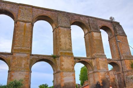 lazio: Aqueduct of Nepi. Lazio. Italy.