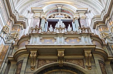lazio: Cathedral of Nepi. Lazio. Italy. Editorial