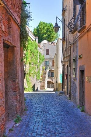 Alleyway. Viterbo. Lazio. Italy. Stock Photo - 16984683