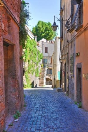 Alleyway. Viterbo. Lazio. Italy. Stock Photo - 16984683