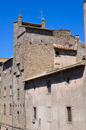 Alleyway. Viterbo. Lazio. Italy.  Stock Photo - 16984205