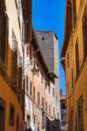 Alleyway. Viterbo. Lazio. Italy.  Stock Photo - 16984166