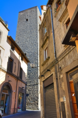 Alleyway. Viterbo. Lazio. Italy. Stock Photo - 16984736