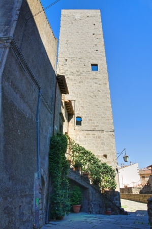 Alleyway. Viterbo. Lazio. Italy. Stock Photo - 16984164