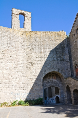 etrurian: Porta Vallia  Viterbo  Lazio  Italy