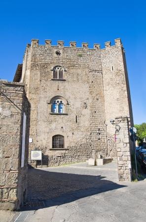 etrurian: Porta St  Pietro  Viterbo  Lazio  Italy  Stock Photo