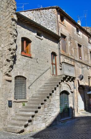 viterbo: Alleyway  Viterbo  Lazio  Italy