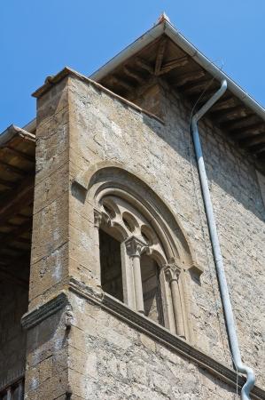 lazio: Farnese Palace. Viterbo. Lazio. Italy.