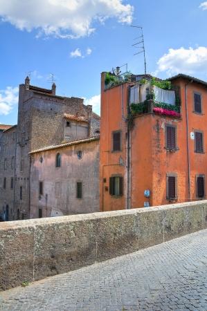 Alleyway. Viterbo. Lazio. Italy. Stock Photo - 17044913