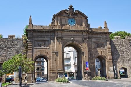 tuscia: Porta Fiorentina. Viterbo. Lazio. Italy.