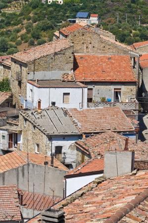 valsinni: Panoramic view of Valsinni  Basilicata  Italy   Stock Photo