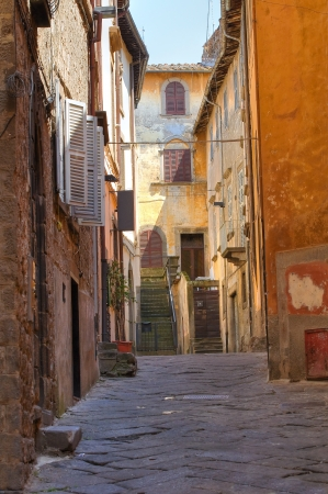 Alleyway  Viterbo  Lazio  Italy  Stock Photo - 17160995