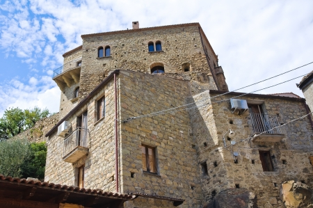 valsinni: View of Valsinni  Basilicata  Italy  Stock Photo