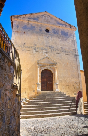 Church of Carmine  Scalea  Calabria  Italy Stock Photo - 17203830