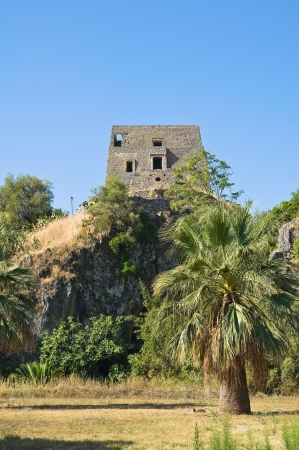 Talao tower  Scalea  Calabria  Italy  Stock Photo - 17203821