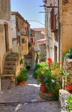Alleyway  Scalea  Calabria  Italy Imagens - 17204214