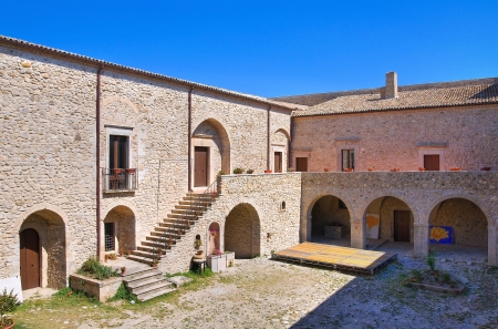 Castle of Santagata di Puglia  Puglia  Italy  Stock Photo - 17228872