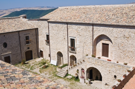 Castle of Santagata di Puglia  Puglia  Italy