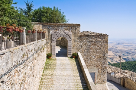 Castle of Santagata di Puglia  Puglia  Italy  Stock Photo - 17228876