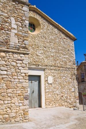 Church of St  Andrea  Santagata di Puglia  Puglia  Italy