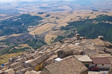 Panoramic view of Santagata di Puglia  Puglia  Italy  photo