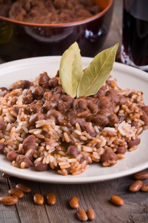 pinto bean: Rice and beans
