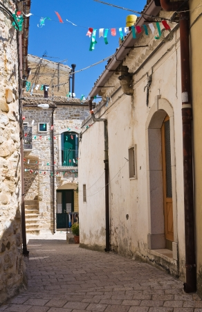 puglia: Alleyway  Santagata di Puglia  Puglia  Italy  Stock Photo