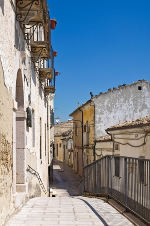 daunia: Alleyway  Santagata di Puglia  Puglia  Italy  Stock Photo