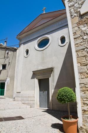 daunia: Church of Carmine  Santagata di Puglia  Puglia  Italy