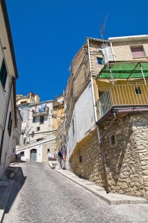 santagata: Alleyway  Santagata di Puglia  Puglia  Italy  Stock Photo