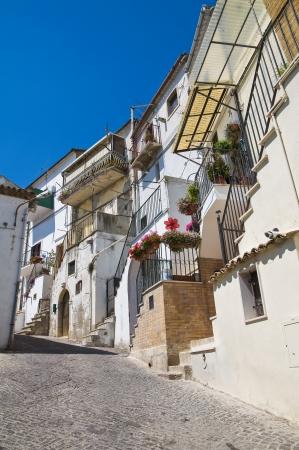 Alleyway  Santagata di Puglia  Puglia  Italy  Stock Photo