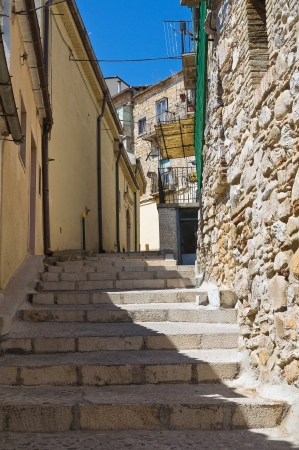 sant agata: Alleyway  Santagata di Puglia  Puglia  Italy  Stock Photo