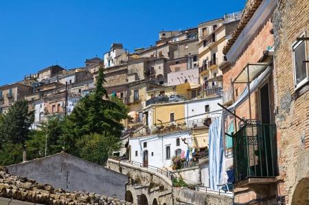 Panoramic view of Santagata di Puglia  Puglia  Italy Stock Photo - 17240725