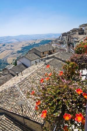 Panoramic view of Santagata di Puglia  Puglia  Italy
