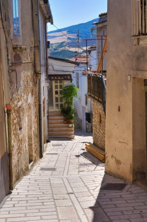 Alleyway. Deliceto. Puglia. Italy. Stock Photo - 17308119