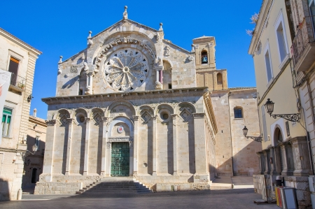 daunia: Cathedral of Troia  Puglia  Italy