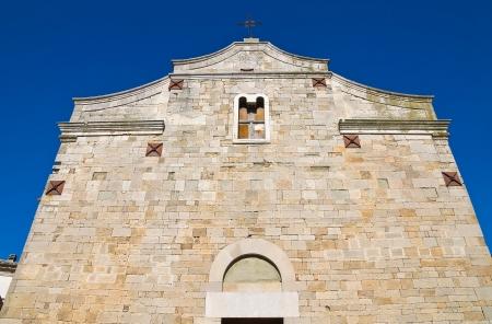 daunia: Basilica church of St  Basilio  Troia  Puglia  Italy   Stock Photo