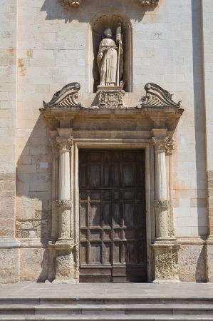 Mother church  Galatina  Puglia  Italy Stock Photo - 17364721