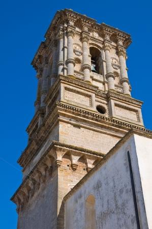 Belltower of Basilica Mother Church. Copertino. Puglia. Italy. Stock Photo - 17379324