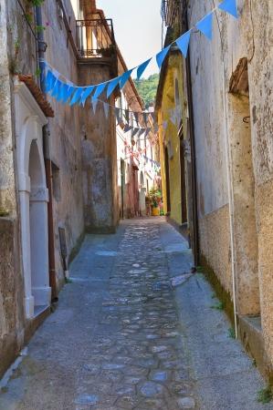 Alleyway. Maratea. Basilicata. Italy. Stock Photo - 17379265