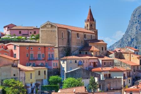 maratea: Panoramic view of Maratea. Basilicata. Italy.  Editorial