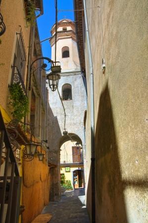 maratea: Alleyway  Maratea  Basilicata  Italy   Stock Photo