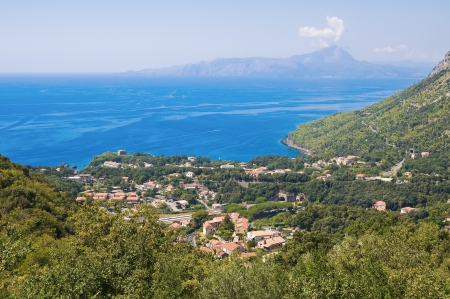 maratea: Panoramic view of Maratea  Basilicata  Italy