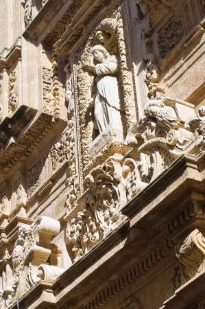 Basilica Cathedral of St  Agata  Gallipoli  Puglia  Italy Stock Photo - 17439118