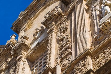 Basilica Cathedral of St  Agata  Gallipoli  Puglia  Italy Stock Photo - 17439126