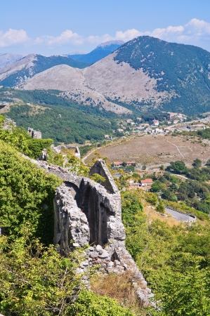 Ruins castle. Maratea. Basilicata. Italy. photo